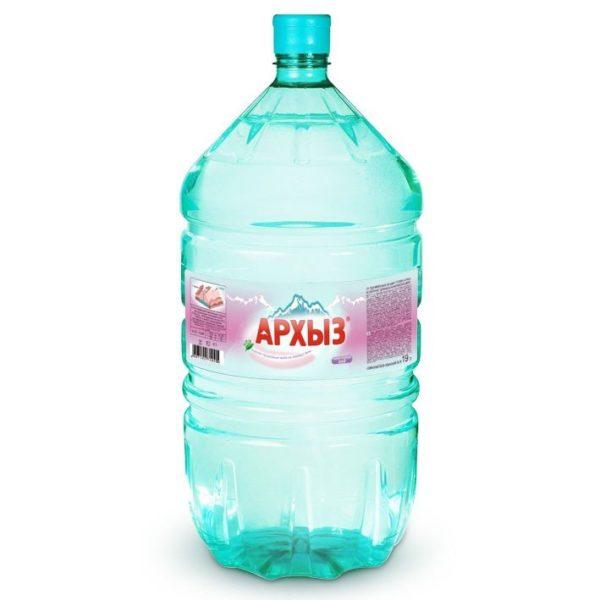 Вода «Архыз», 19 л, горная, талая, минеральная фото