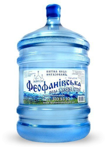 Вода «Феофанівська» класична, 18,9 л фото