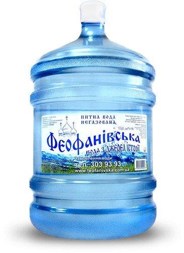 Вода «Феофанівська» легкая, 18,9 л фото