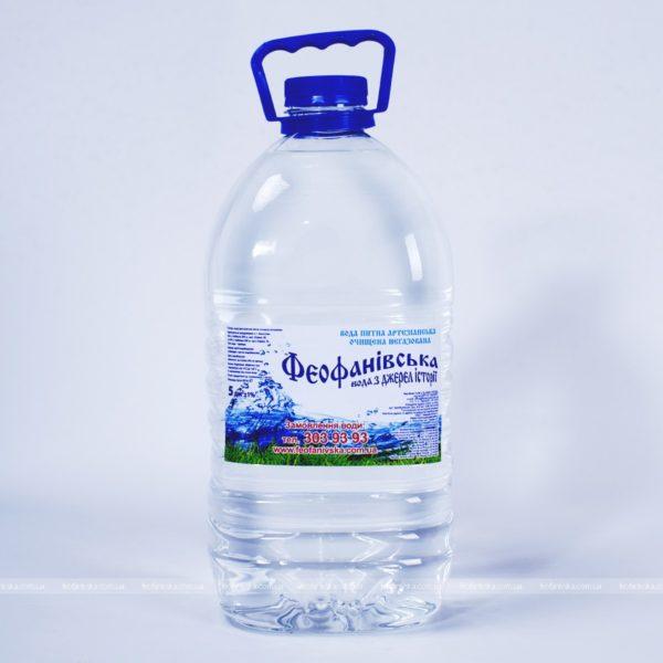 Вода «Феофанівська» негазированная, 5 л фото