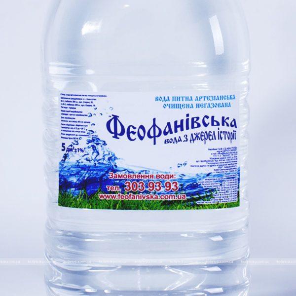 Вода «Феофанівська», 5 л