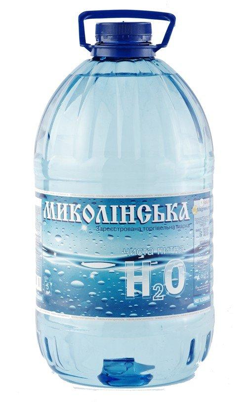 Вода «Николинская» негазированная, 5 л фото
