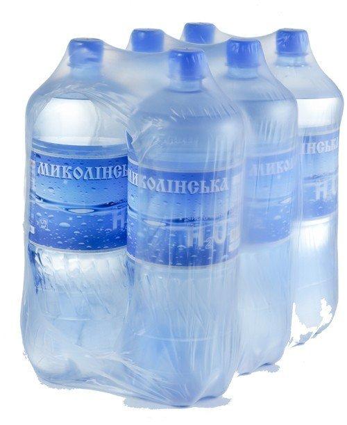 Вода «Николинская» газированная, 1,75 л, 6 шт. в паке фото