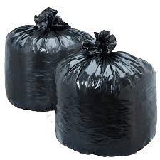 Пакеты для мусора черные 40 шт. по 60л.