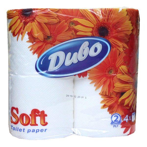Бумага туалетная Диво двухслойная, 4 шт. фото