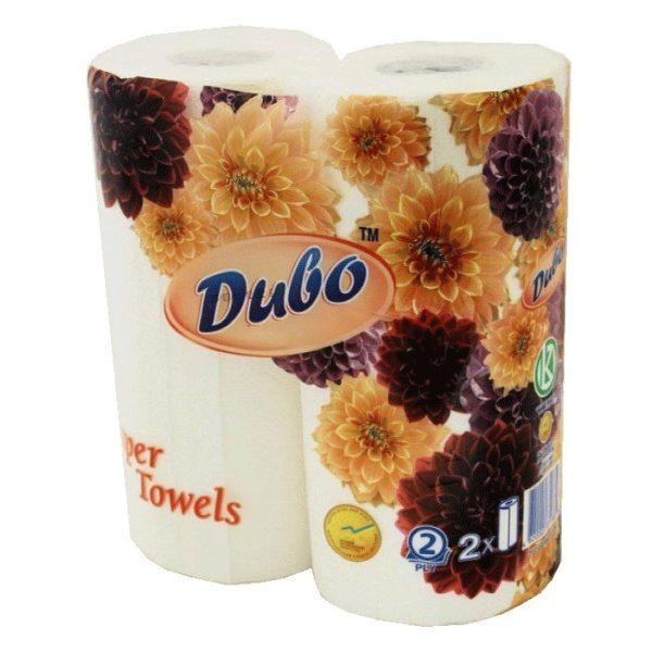 Бумажные полотенца белые Диво, 2 шт. фото