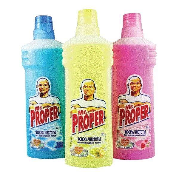 Mr. Proper для мытья полов, 750 мл