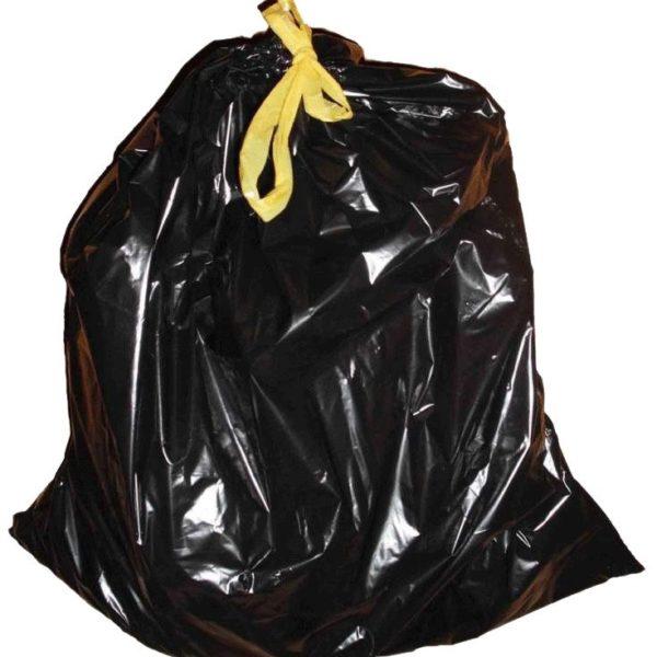 Пакеты мусорные с затяжками 35 л. (15 шт.)