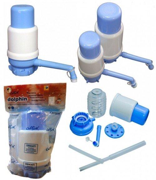 Altay Dolphin - ручная помпа на бутыль для питьевой воды