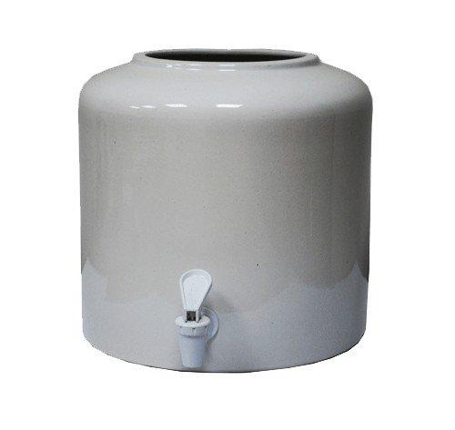Керамический диспенсер для воды «Белый» фото