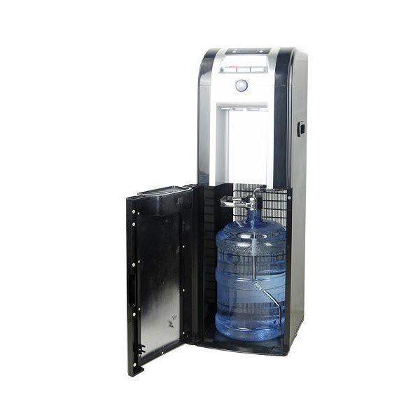 Кулер для воды напольный Aqua World HC 58L UFD, компрессорный, с нижней загрузкой бутыли