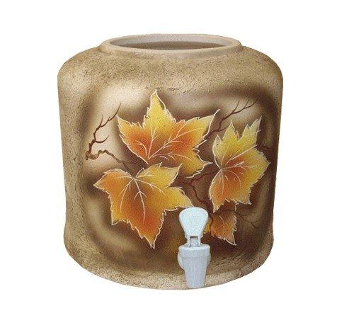 Керамический диспенсер для воды «Клен» шамот фото