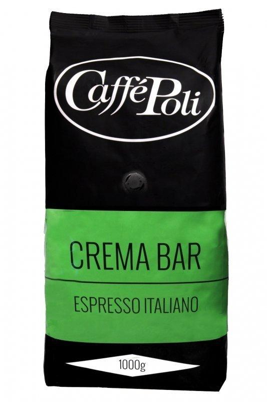 Кофе в зернах Caffe Poli Crema Bar, 1 кг фото
