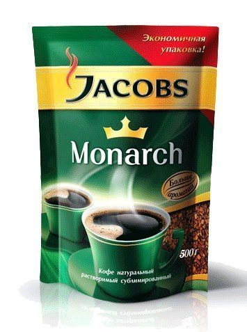 Кофе Jacobs Monarch растворимый 400 г