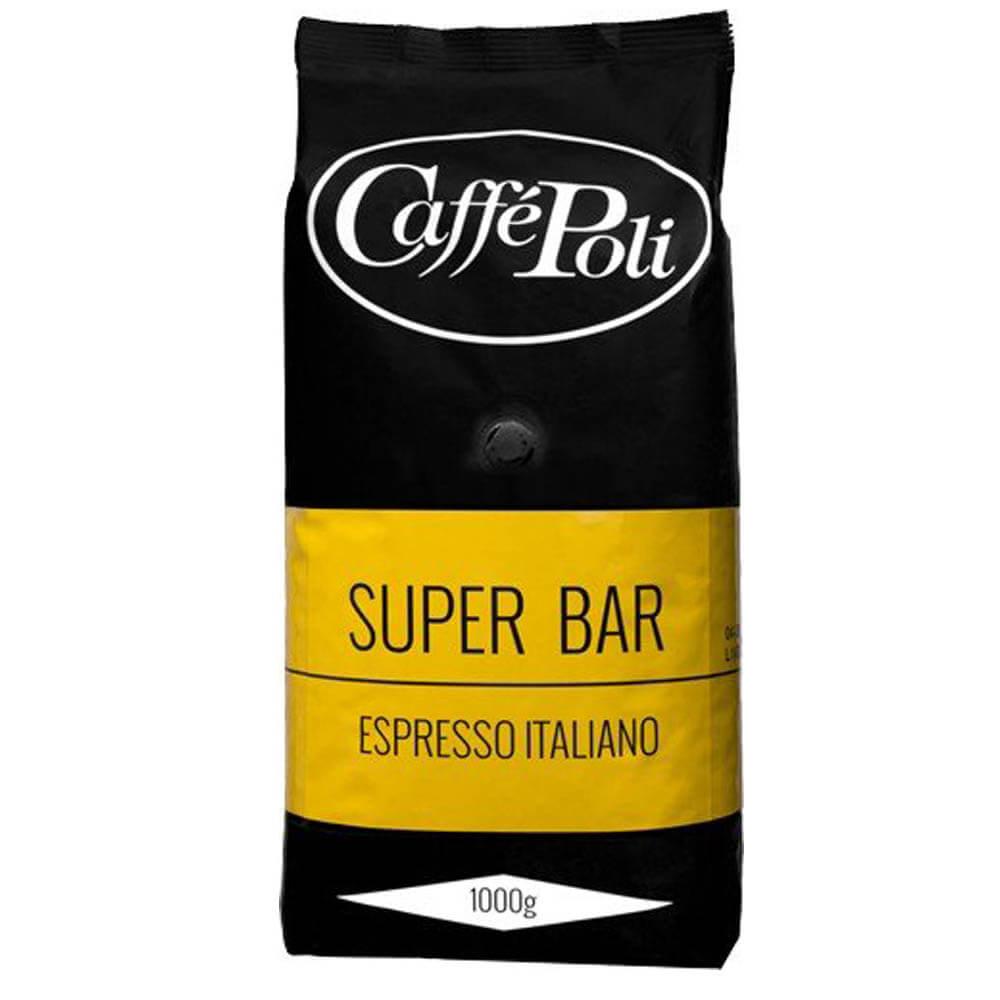 Кофе в зернах Caffe Poli Super Bar, 1 кг фото