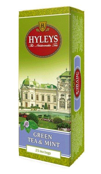Зеленый чай с мятой HYLEYS 25 пакетиков