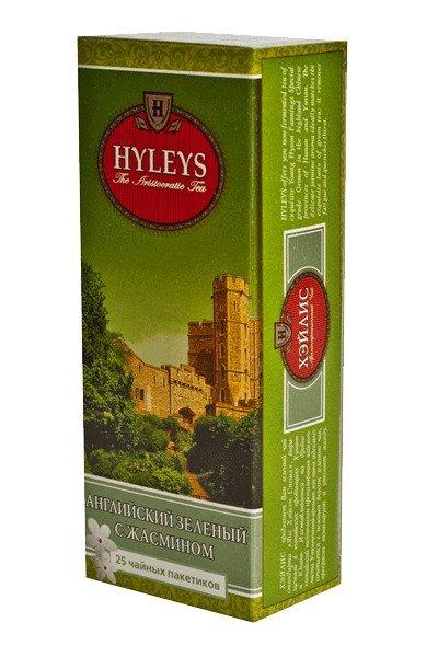 Зеленый чай с жасмином Хэйлис 25 пакетиков