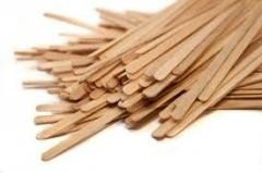 Мешалки для кофе деревянные, 1000 штук фото