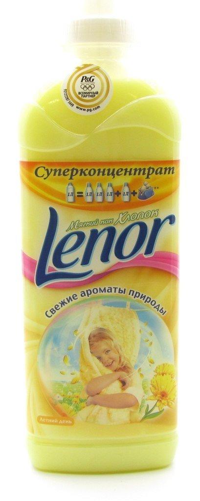 Кондиционер для белья Lenor, 1 л фото