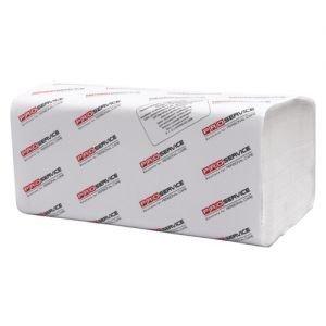 Бумажные полотенца Z-BEST белые, 160 шт. фото