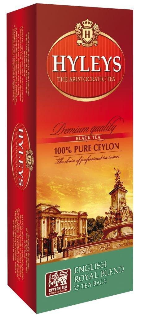 Чай черный HYLEYS Королевский купаж с цитрусом 25 пакетиков