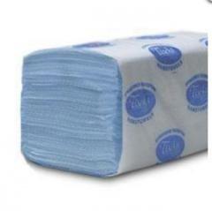 Бумажные полотенца Z-BEST, синие, 200 штук фото