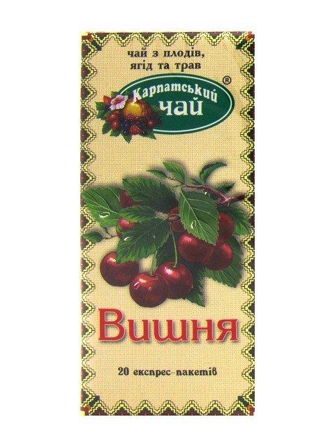 Карпатский чай Вишня, 20 пакетиков фото