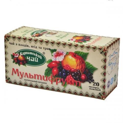 Карпатский чай Мультифрукт, 20 пакетиков фото