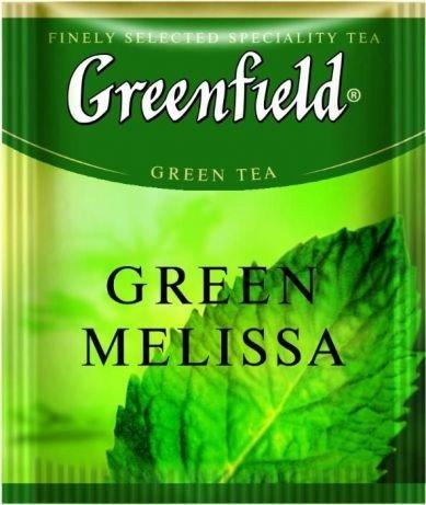 Чай зеленый ТМ Greenfield Мелисса, 25 пакетиков в фольге