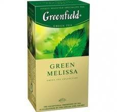Чай зеленый Greenfield Мелисса, 25 пакетиков фото