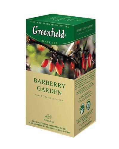 Черный чай Greenfield, Барбарис, 25 пак. фото