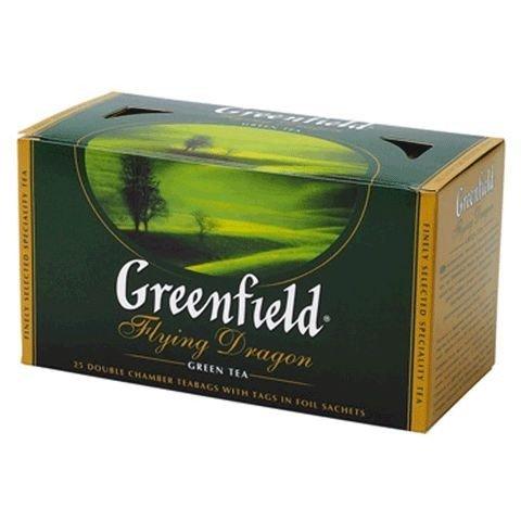 Чай зеленый ТМ Greenfield, 25 пакетиков фото