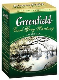 Черный чай Greenfield Earl Grey Fantasy, 100 г фото