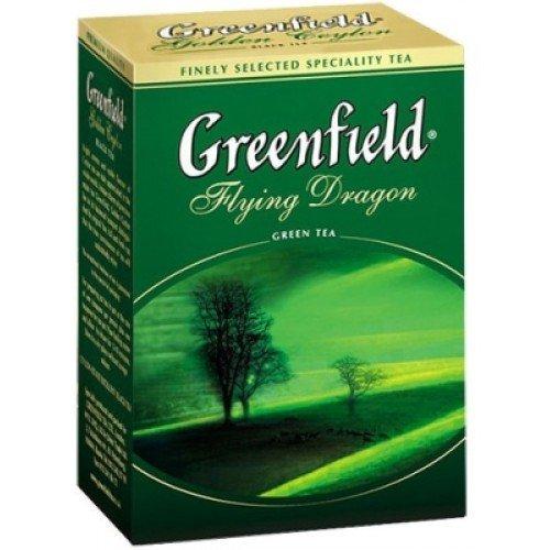 Зеленый чай ТМ Greenfield листовой, 100 г фото