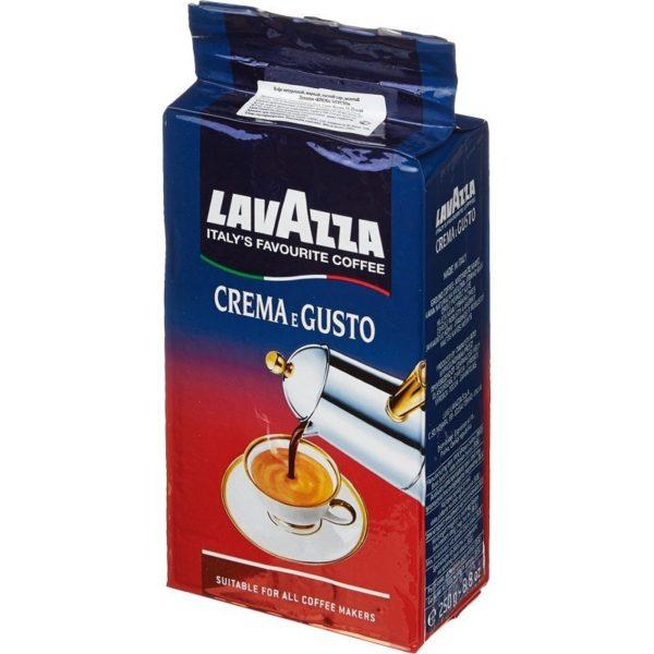 Кофе молотый Lavazza Crema e Gusto, 250 г фото