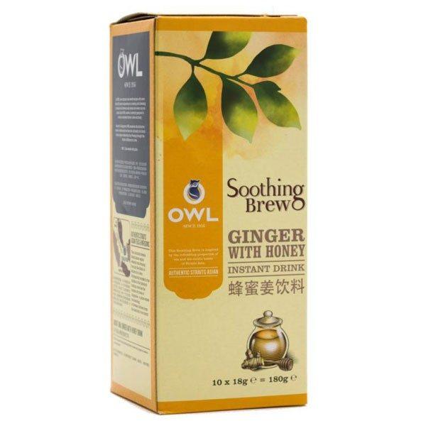 Быстрорастворимый имбирный напиток с медом, 10 стиков по 18 г фото