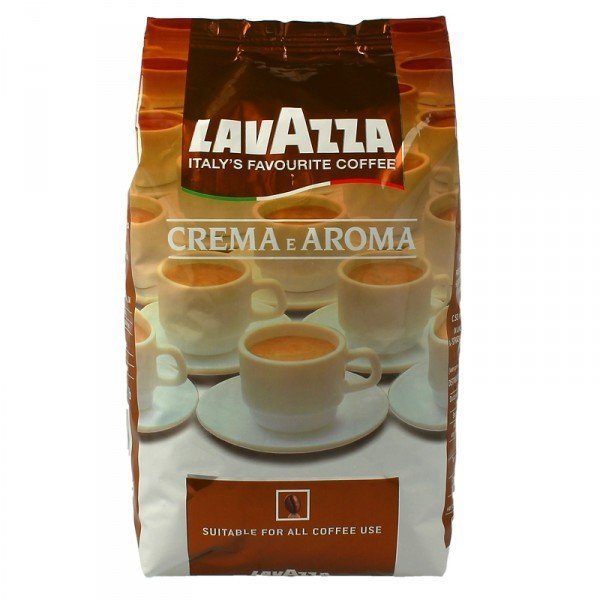 Кофе в зернах Lavazza Crema e Aroma, 1 кг фото