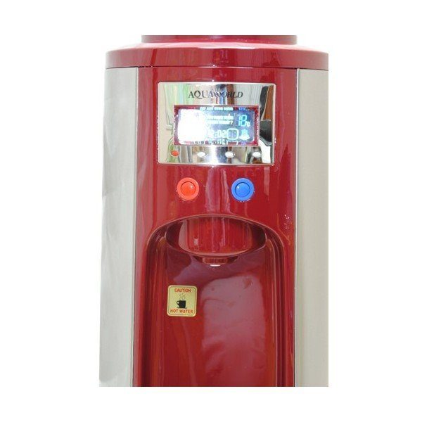Кулер для воды напольный Aquaworld HC 68L Red, компрессорный