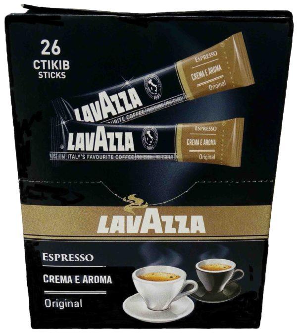 Кофе Lavazza CREMA E AROMA Espresso растворимый в стиках фото