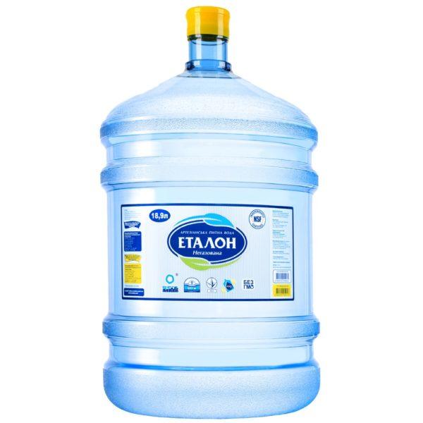 Вода «Эталон» Умягченная, 18,9 л фото