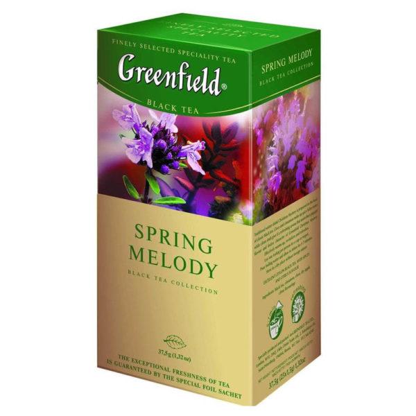 Черный чай Greenfield Spring Melody с чабрецом фото