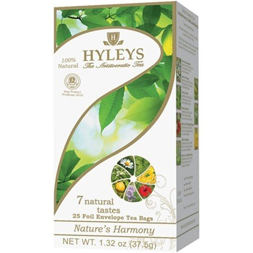 Чай HYLEYS Гармония природы 7 натуральных вкусов (ассорти), 25 пакетиков, фото