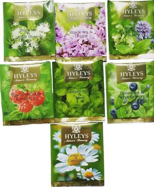 Чай HYLEYS Гармония природы 7 натуральных вкусов (ассорти), 25 пакетиков