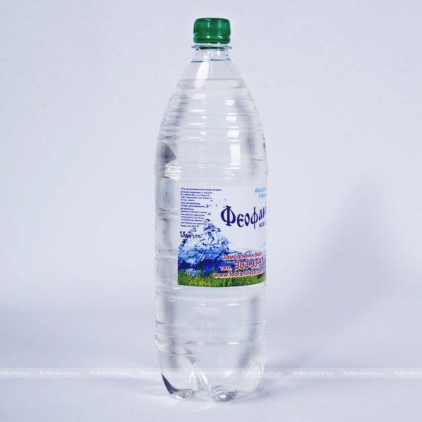 Вода «Феофанівська», 1,5 л негазированная, 6 шт.
