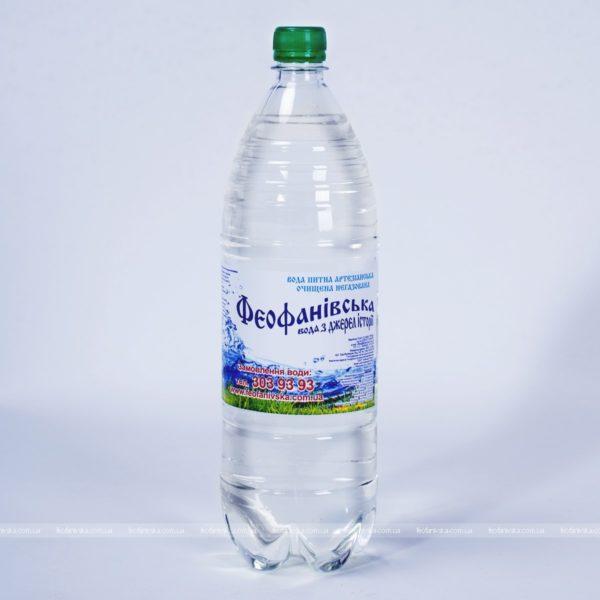 Вода «Феофанівська» негазированная, 1,5 л, пак 6 шт. фото