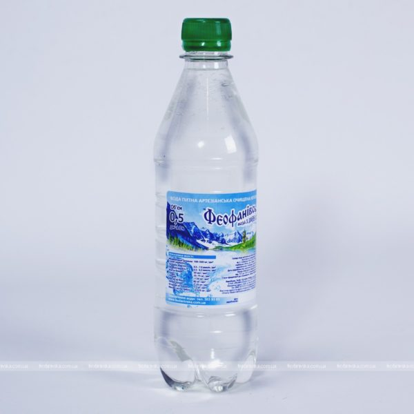 Вода «Феофанівська», 0,5 л негазированная, 12 шт. фото
