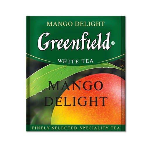 Белый чай Greenfield, Манго, 25 пакетиков в фольге, фото