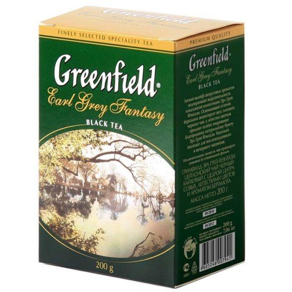 Чай черный Earl Grey Fantasy ТМ Greenfield , 200 г фото