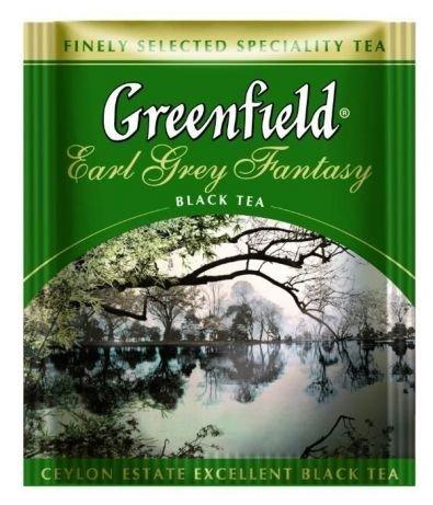 Черный чай Гринфилд с бергамотом Earl Grey Fantasy фото