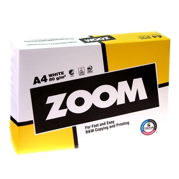 Офисная бумага Zoom формат А4 фото